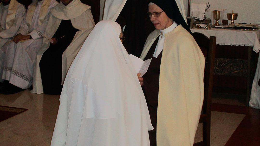 O coração da Diocese de Aveiro pulsa de vida com mais uma religiosa Carmelita