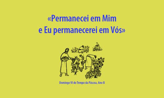 Domingo V da Páscoa: «Permanecei em Mim e Eu permanecerei em Vós»