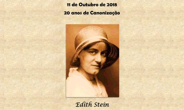 Edith Stein: 20 anos de Canonização