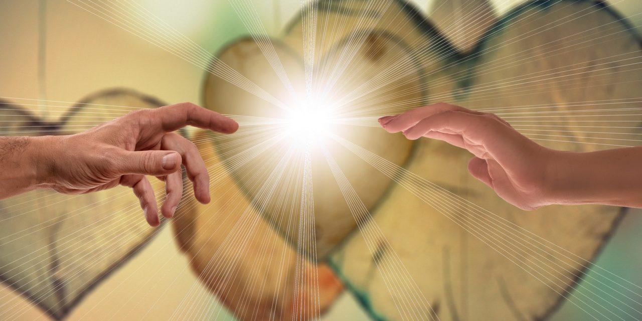Estar reclinados sobre o peito de Jesus