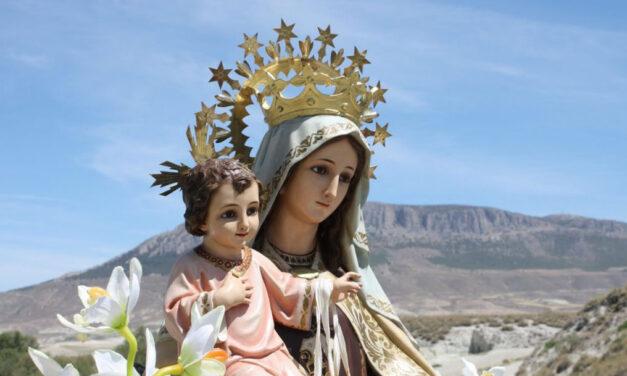 Maria vista pelos Santos do Carmelo