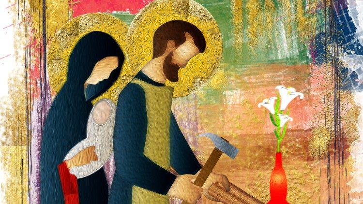 O MATRIMóNIO DE MARIA E JOSÉ